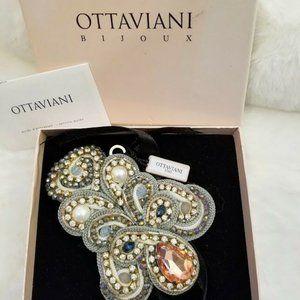 Sold-Ottaviani Bijoux Crystal Brooch Pendant